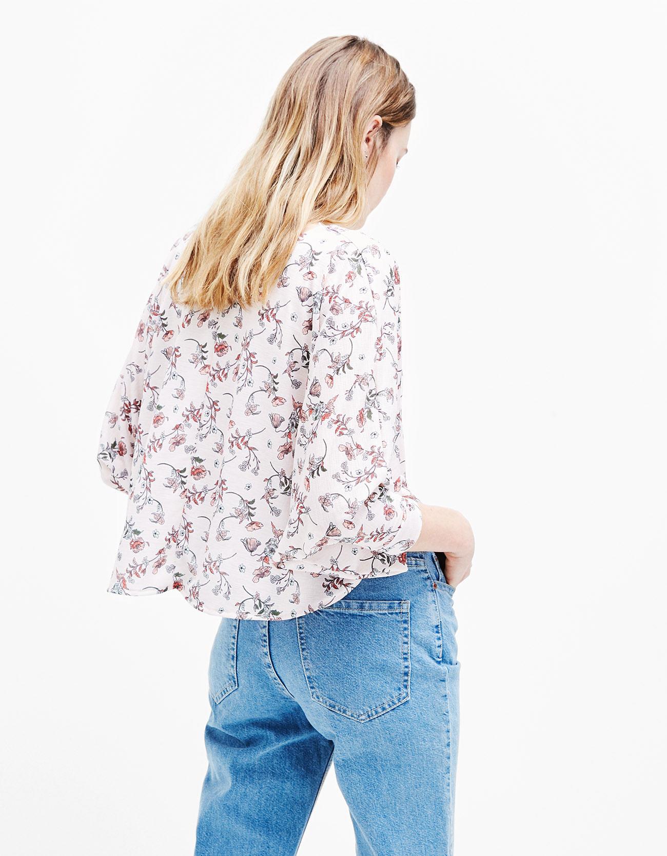 Sayuri Villalba – Bershka – Flowers in Pink2
