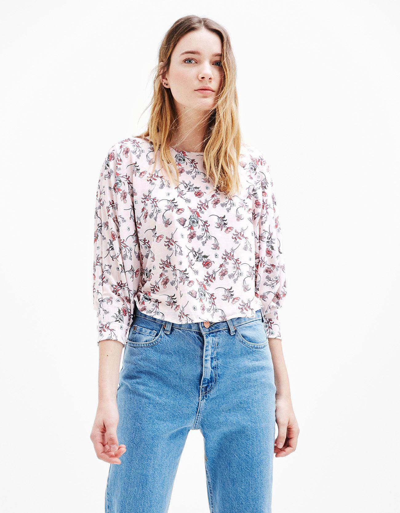 Sayuri Villalba – Bershka – Flowers in Pink4