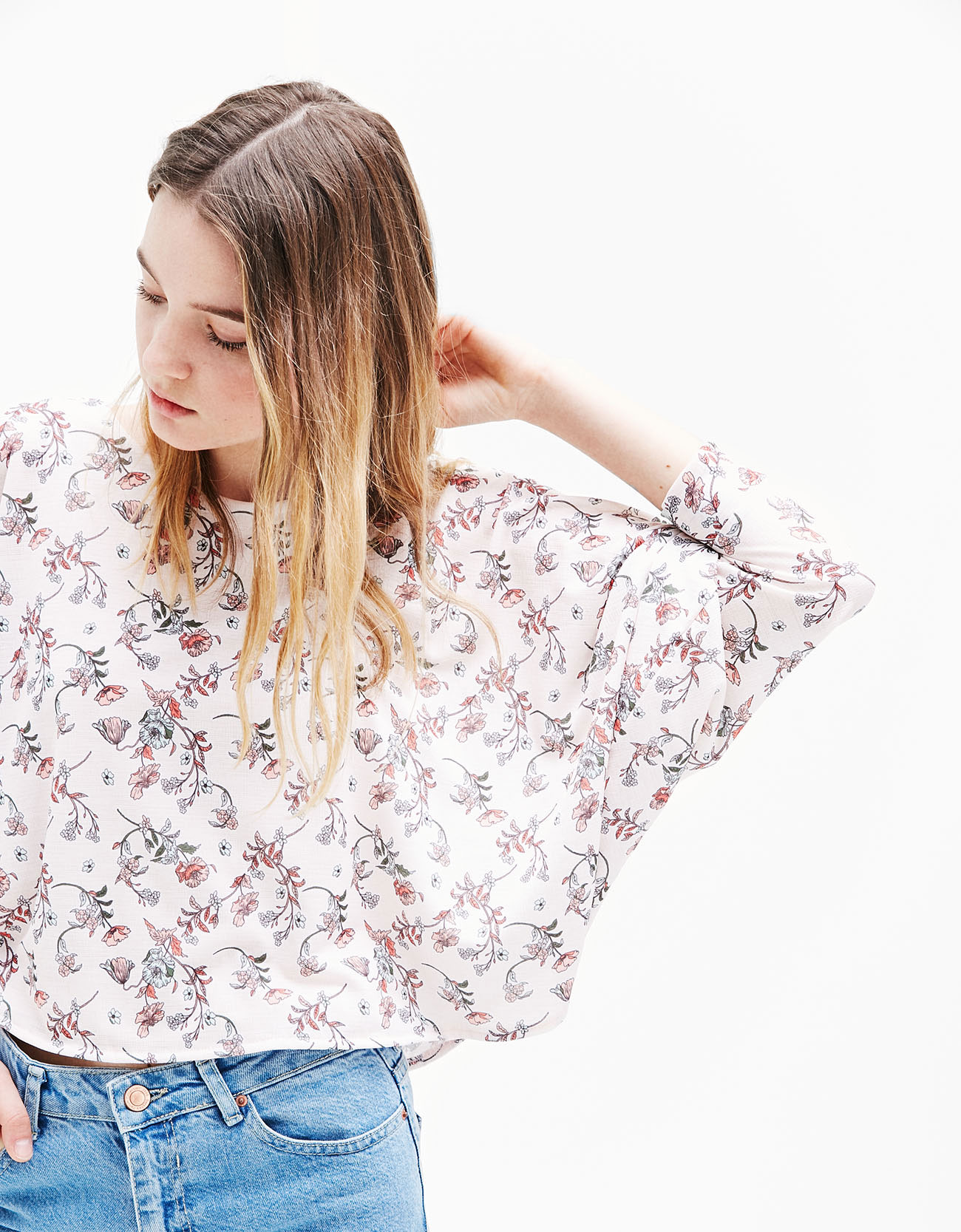 Sayuri Villalba – Bershka – Flowers in Pink5