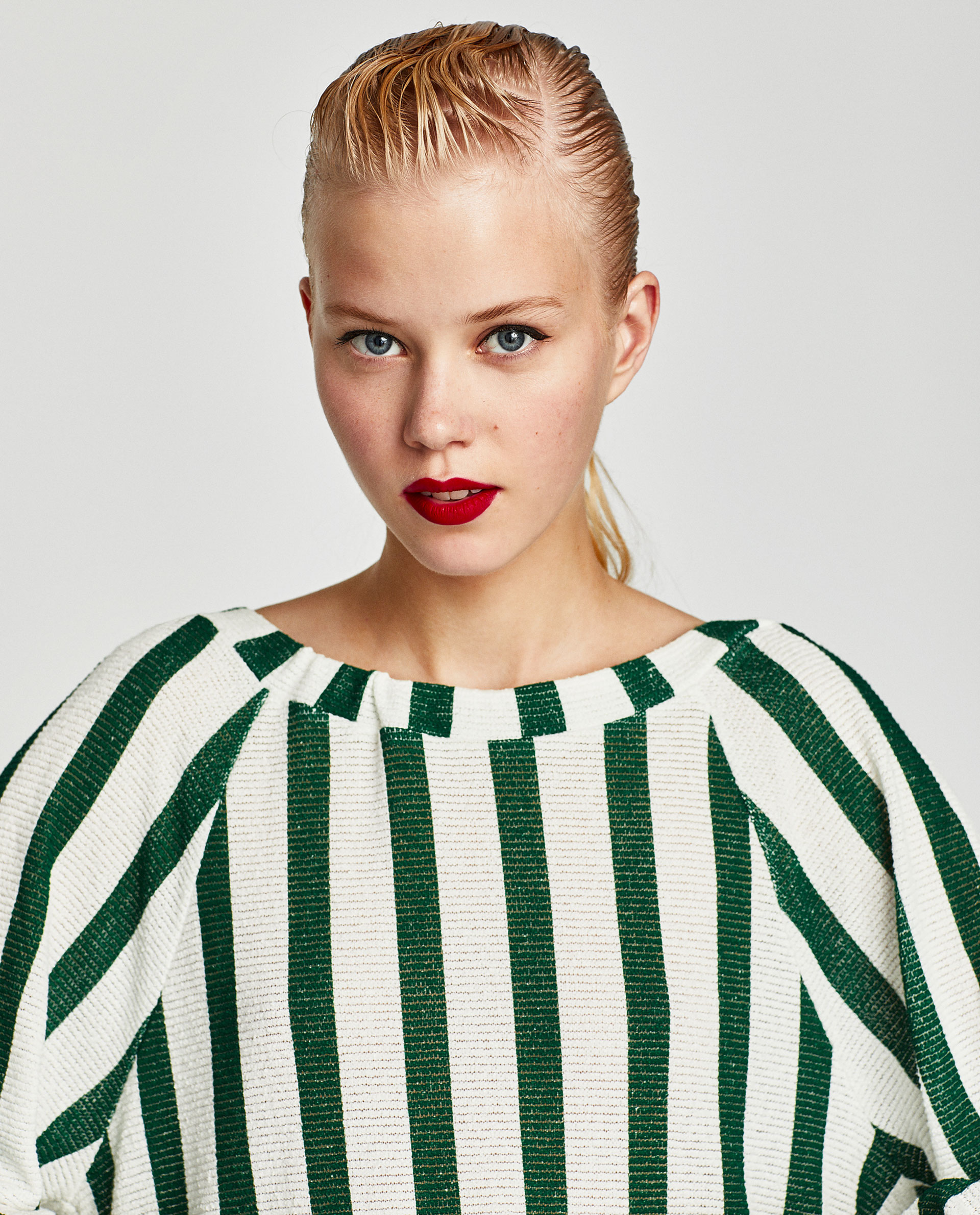Sayuri Villalba – Zara TRAFALUC Green Stripes 6