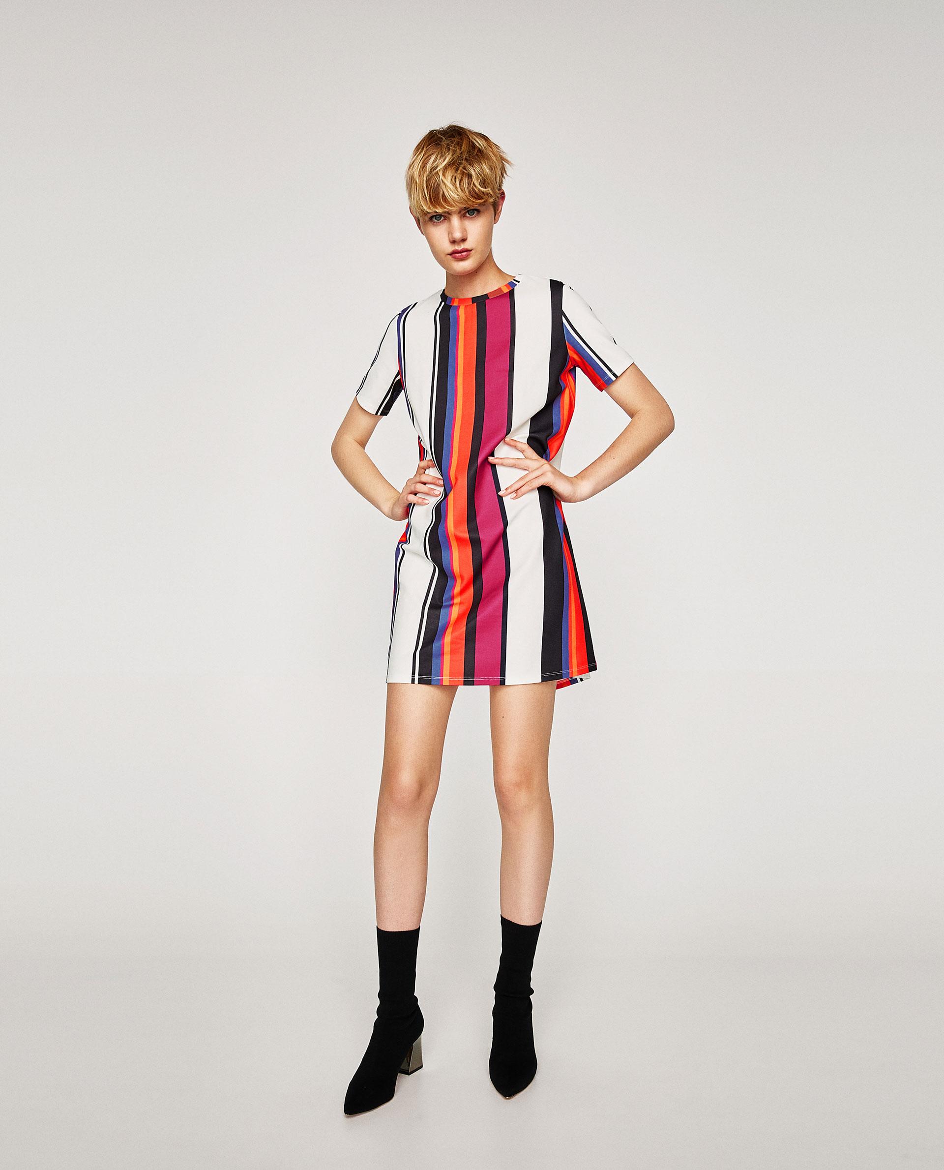 Sayuri Villalba - Zara Print Design Dress